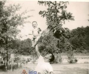 Rodzinne zdjęcia ojca z synem