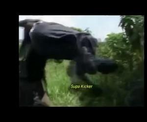 Kino sensacyjne prosto z Afryki, potem ciemny ekran