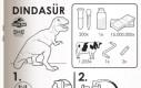 Dinozaur - instrukcja złożenia