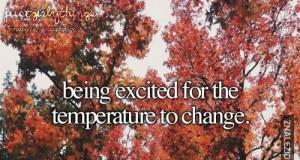 O! Zmieniła się pogoda!