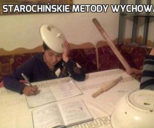 Starochińskie metody wychowawcze