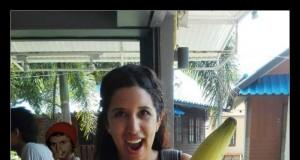 Gigantyczny tajski banan