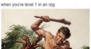 Kiedy masz pierwszy poziom