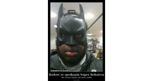 Radość ze spotkania Super Bohatera