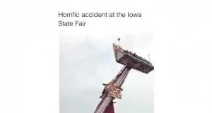 Straszny wypadek w lunaparku