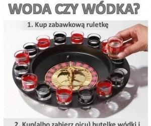 Woda czy wódka?