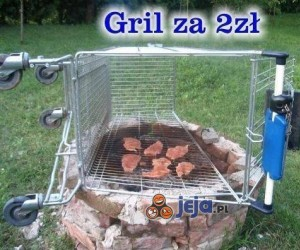 Grill za 2 zł