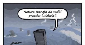 Natura kontra ludzkość