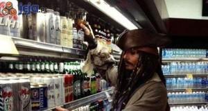 Szukając alkoholu na imprezę...
