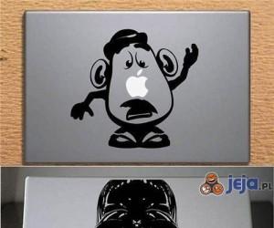 Kreatywne ozdoby Macbooków