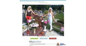 U braciszka na cmentarzu