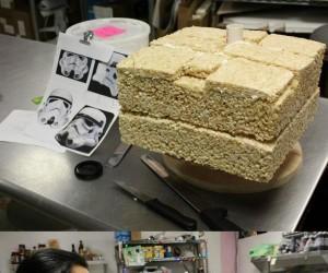 Szturmowiec z ciasta