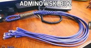 Adminowski bicz