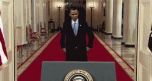 Obama tańczy