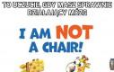 Nigdy nie siadaj na żyrafach, to nie są krzesła