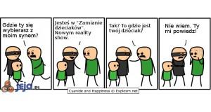 Nowe Reality Show - Zamiana dzieciaków
