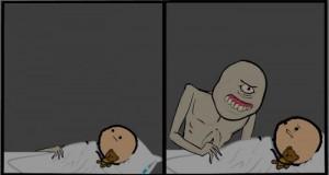 Potwory też czasem się boją