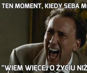 Ten moment, kiedy Seba mówi: