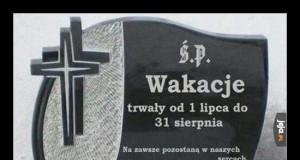 Pogrążeni w żałobie...