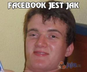 Facebook jest jak