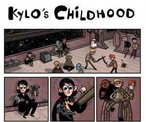 Dzieciństwo Kylo Rena