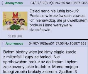 A Ty lubisz brokuły?