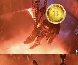 Spadek bitcoina