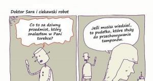Doktor Sara i ciekawski robot