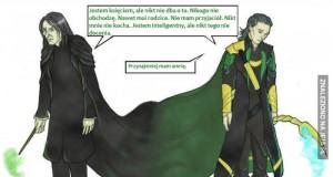 Snape i Loki - ten sam problem