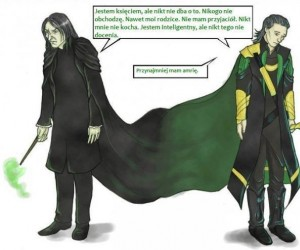 Snape i Loki - ten sam problem