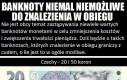 Wycofane banknoty obecnych serii