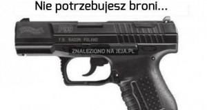 Policja zamiast broni?