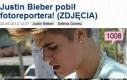 Justin Bieber pobił fotoreportera!
