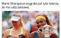Maria Sharapova może zaprosić na obiad całą rodzinę