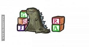 Słodka Godzilla