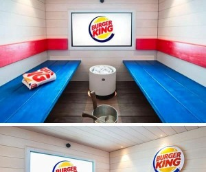 Burger King otworzył fast-food spa