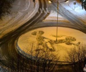 Arcydzieło na śniegu