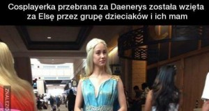 Elsa Targaryen z Krainy Lodu