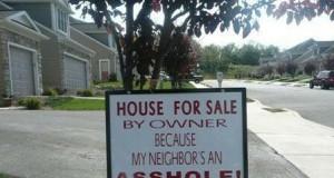 Problemy z sąsiadem