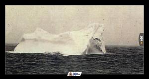 Góra lodowa, z którą zderzył się Titanic