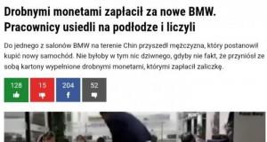 Grosz do grosza i będzie BMW