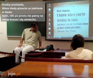 On wie więcej, niż większość nauczycieli