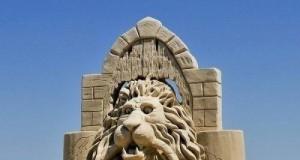 Niesamowite piaskowe rzeźby