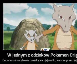 W jednym z odcinków Pokemon Origins