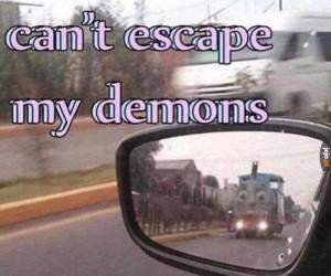 Nie uciekniesz przed swoimi demonami