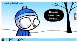 Samotność zimą
