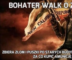 Bohater walk o Zaporę