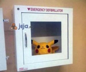 Defibrylator Pikachu