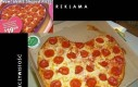Nowa Pizza w kształcie serca