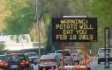 Uważaj na ziemniaki